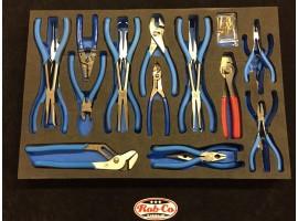 Foam Draw Inlay tool control Plier set