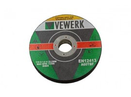 115 X 1.0 X 22.2MM CUTTING DISC FOR S/STEEL