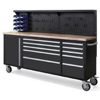 """84"""" Rollcab and workstation"""
